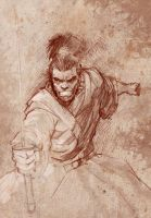 samurai-sketch by tomisaburo