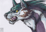 Wolf Link by StormBlaze-Pegasus