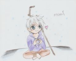 Rise of the Guardians - Chibi Jack Frost by KunoichiAyu