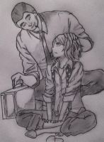 Juuzou and Shinohara by die4direngreyy