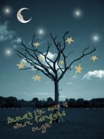 Stars on a tree by easybeeze