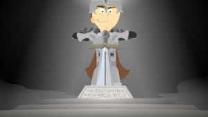 Eugene at the Pedestal by Aniforce
