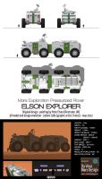 Mars pressurized rover - Elson Explorer by Ludo38