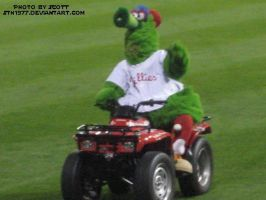 Phillie Phanatic by sth1977