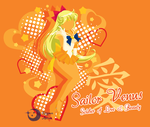 Super Sailor Venus T-Shirt Design by Sigma-Astra