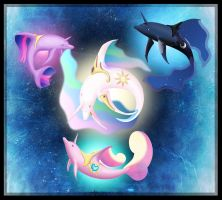 Delphinus Gods by mourning-dreams