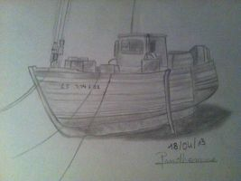 A simple boat by Anaponey2000