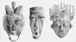 African Masks by DrChrissy