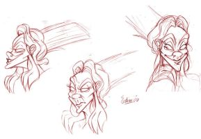 Perneta Faces by samycat