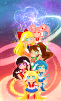 Sailor Moon Tribute by Hyper-ChildEXE