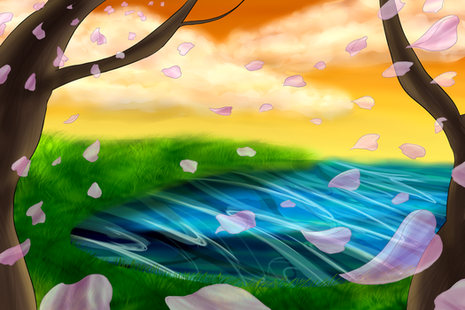 Background WIP by Iiyume