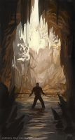 Speed paint: Caves by JophielS
