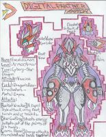 .::DIGIMON-TDC2::. Exceldramon by HorrorViewed