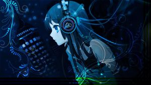 Blue Music by Dracowater