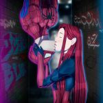 Spiderman and Scarlet Spider by JeyraBlue
