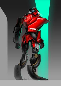 BikeBot - Ducati 1199 Panigale by Jack85