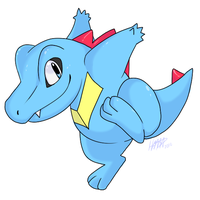 Tola the Totodile by hamzie