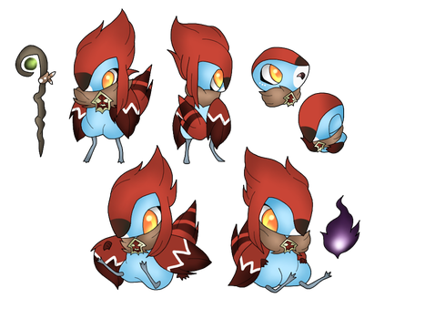 MYO birdfolk (approved) by amichaan