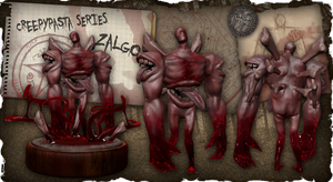 Creepypasta Series 6: Zalgo's Blood Incarnation by dimelotu