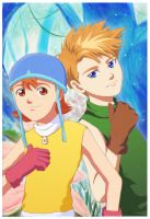 Digimon: Love and Friendship by privee