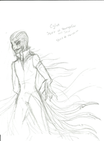 New RoTG Antagonist Sketch: Cylus by Forest-Whispers