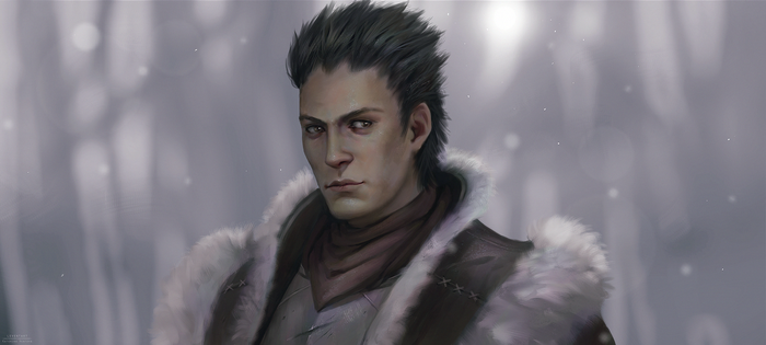 Commission: Knox (Dragon Age) by Leventart