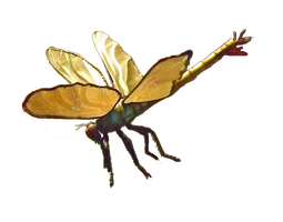Dragonfly by SpellpearlArts