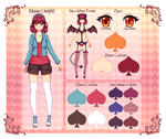 Character Sheet: Cailyn Beleth by Happy-Nyan