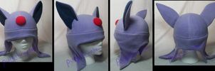 Pokemon Fleece Hat: Espeon by PurgatorianHeir