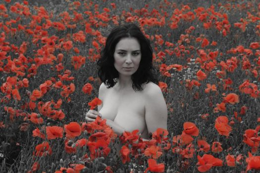 Naked in a Field by SeanJC76
