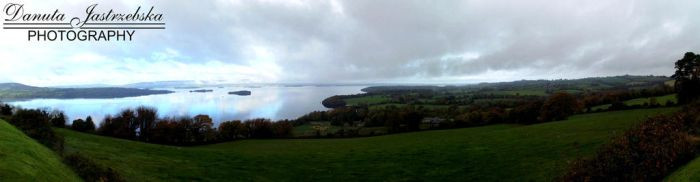 Loch Gair panorama by Savrille