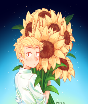 Sunflowers by m-arci-a