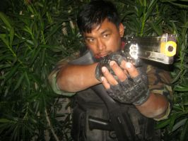 Resident Evil BSAA South America operative by Demon-Lord-Cosplay