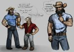 DAI: Cowboy AU by ReaperClamp