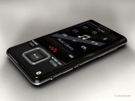 Sony a820k Walkman MP3 by 2753Productions