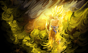 dragonball smudge by HACKSDENM3RK