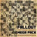 Fallout Mega Brush Pack [2013] by radroachmeat