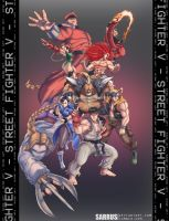 Street Fighter V - Rise Up! by sarrus