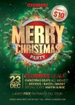 Merry Christmas Flyer V1 by designercow