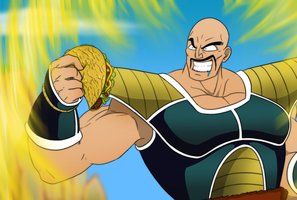 Nappa likes taco by Littlecutter