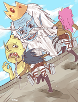 Attack on Adventurers! by Dankoballs