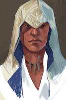 Sketch - Connor Kenway by Crumbelievable