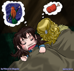 Kili and Fili, Sleepy, Dreamy by Prince-in-Disguise