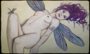 Dragonfly Girl by Folterinstrument