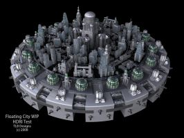 Floating City WIP HDRI Test by TLBKlaus
