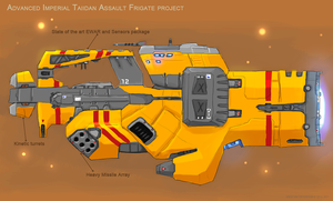 Advanced assault frigate by Enterprise-E