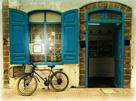 A Bike in Morocco by SHParsons