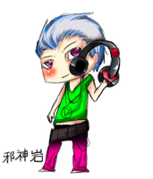 Punk Hidan by chilce