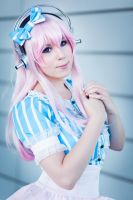SUPER SONICO COSPLAY by K-I-M-I