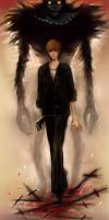 Light yagami _Ryuk_Death Note by DZIU09